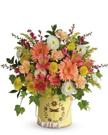 Teleflora's Country Spring Bouquet Flower Arrangement
