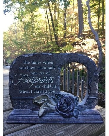 Footprints Garden Chime Gifts
