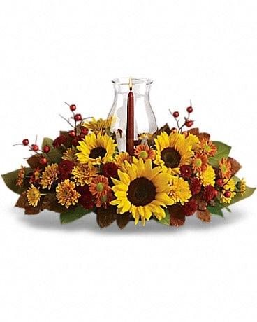 Sunflower centerpiece in west orange nj the nation of pollen sunflower centerpiece flower arrangement mightylinksfo