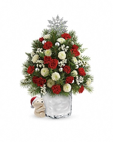 Send a hug cuddly christmas tree by teleflora in sand springs ok send a hug cuddly christmas tree by teleflora in sand springs ok sand springs flowers mightylinksfo