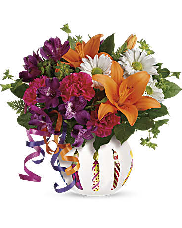 Teleflora's Party Starter Bouquet in Coopersburg PA - Rose