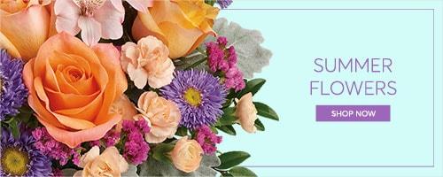 Summer Flowers Banner - Findaflorist.com