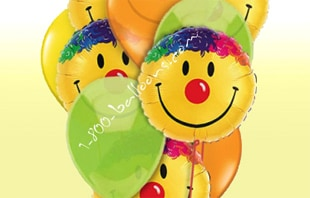 Send Them Smiles balloon