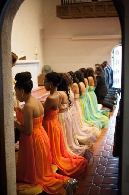 Tropical San Diego Wedding