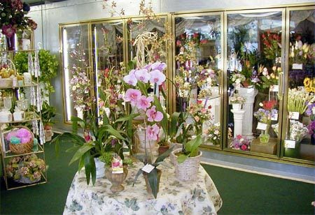 Inside Coast to Coast Flower Shop