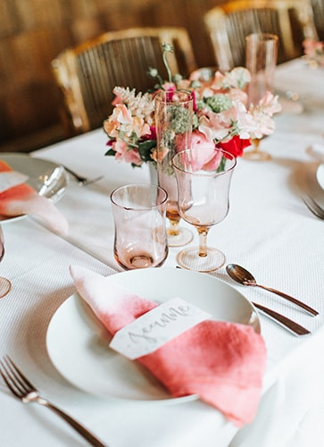 Pink Bridal Luncheon