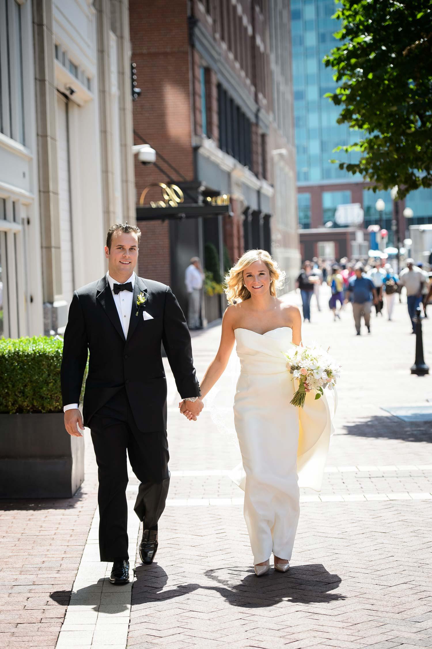 Summer City Wedding