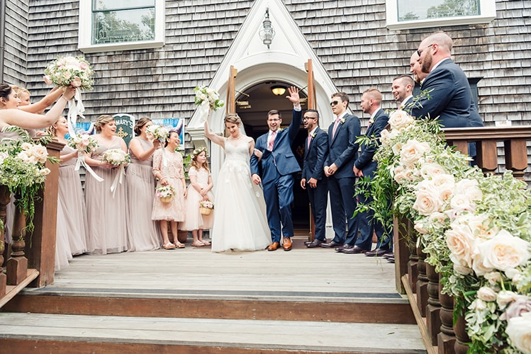 Timeless Nantucket Nuptials