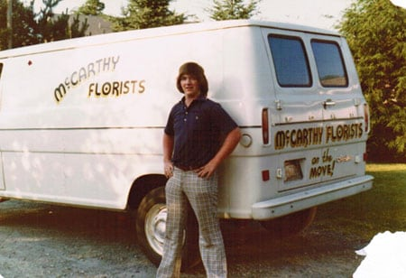 New McCarthy Florists Van 1972