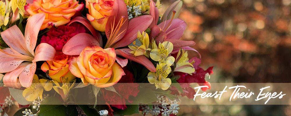 Thanksgiving Flowers - Feast Their Eyes
