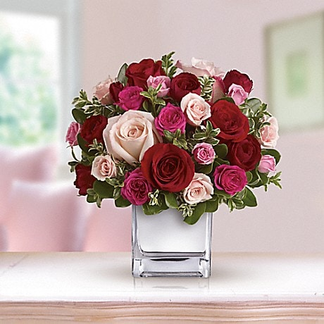 Teleflora S Love Medley Bouquet With Red Roses In Owensboro
