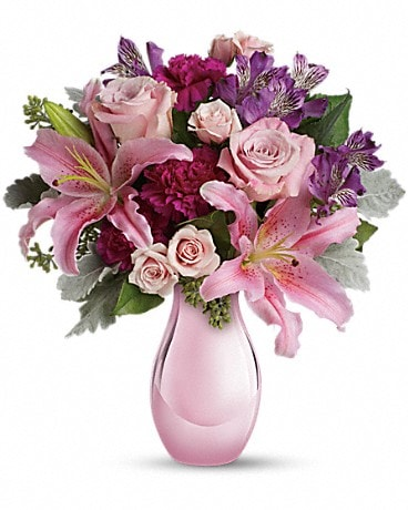 Enchanting Pinks by Teleflora