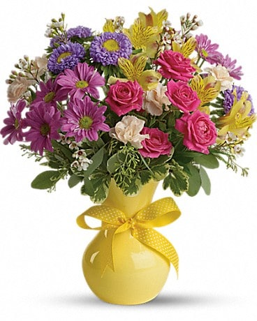 Teleflora's Color It Happy Bouquet
