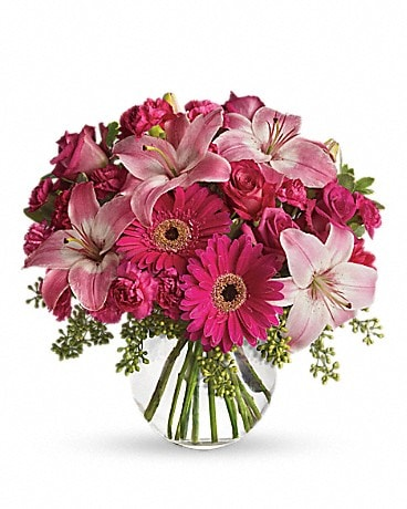 A Little Pink Me Up #T10-3A Bouquet