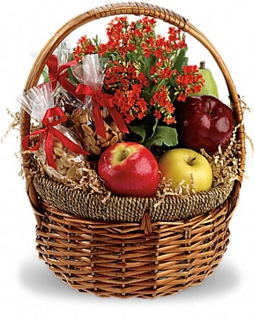 Health Nut Basket Gift Basket