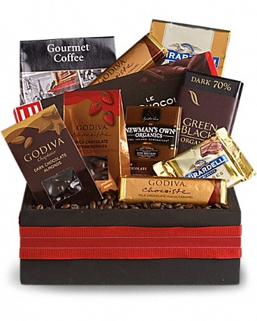 Luxurious Indulgence Gift Basket