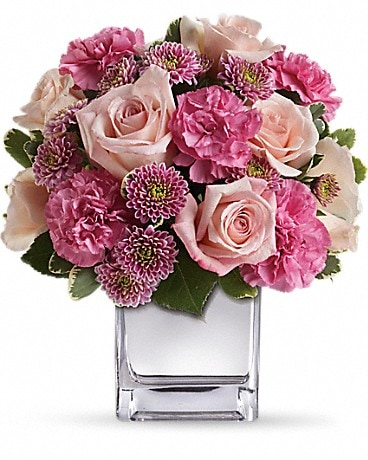 Teleflora's Treasure Her Bouquet Flower Arrangement