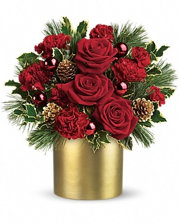 Teleflora's Holiday Elegance Bouquet