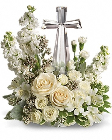Divine Peace Bouquet Flower Arrangement