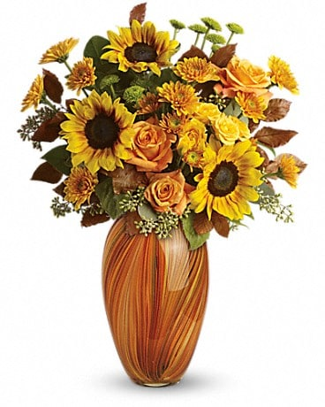 Teleflora's Golden Sunset Bouquet Bouquet