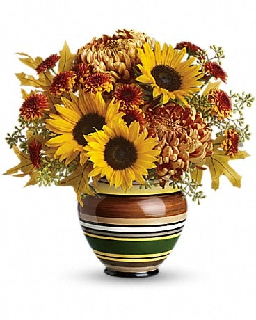 Teleflora's Harvest Stripes Bouquet Bouquet