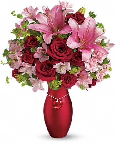 Aurora florist flower delivery by dianas flowers gifts telefloras charm her bouquet bouquet mightylinksfo