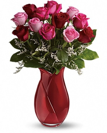 Teleflora's Say I Love You Bouquet - Dozen Roses Bouquet