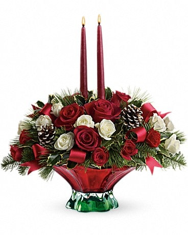 Teleflora S Colors Of Christmas Centerpiece In Sidney Oh Dekker S