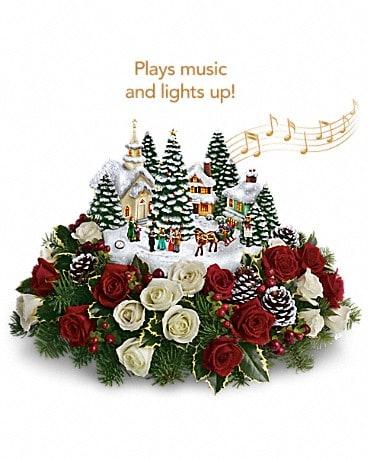 Thomas Kinkade S Old Fashioned Christmas By Betty S Flower Box