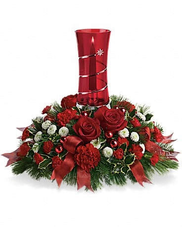 Teleflora's Star Bright Centerpiece Flower Arrangement