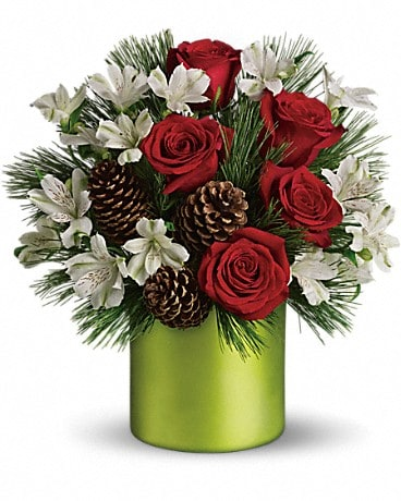 Teleflora's Christmas Cheer Bouquet Bouquet