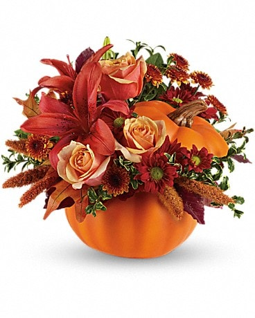 Autumn's Joy by Teleflora Flower Arrangement