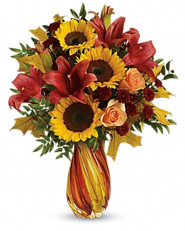 Teleflora's Autumn Beauty Bouquet