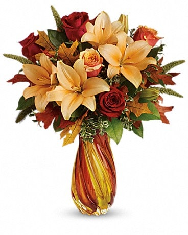Teleflora's Treasures of Fall Bouquet Bouquet