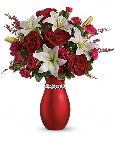 Teleflora's XOXO Bouquet with Red Roses Bouquet