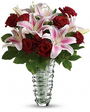 Teleflora's Melt My Heart  - Long Stemmed Roses Bouquet