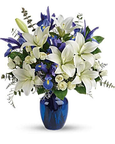 Blue Horizons Bouquet