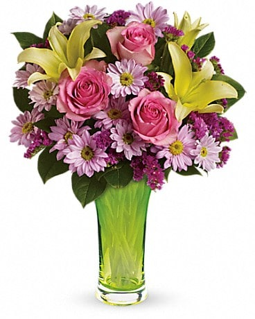 Teleflora's Bring On Spring Bouquet Bouquet