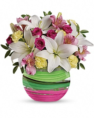 Teleflora's Paint It Pastel Bouquet Bouquet