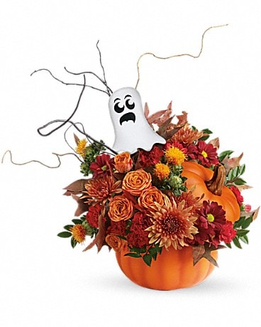 Teleflora's Spooky Surprise Bouquet Flower Arrangement