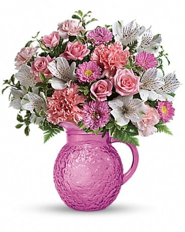 Teleflora's Pour On Pink Bouquet Bouquet
