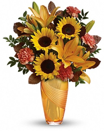 Teleflora's Golden Grace Bouquet Bouquet