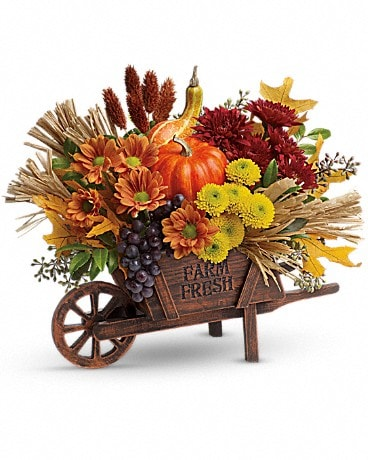 Teleflora's Rustic Charm Bouquet Flower Arrangement