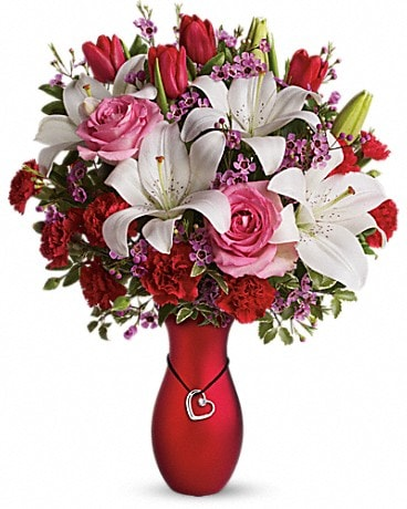 My Heart Is Yours Bouquet by Teleflora Bouquet
