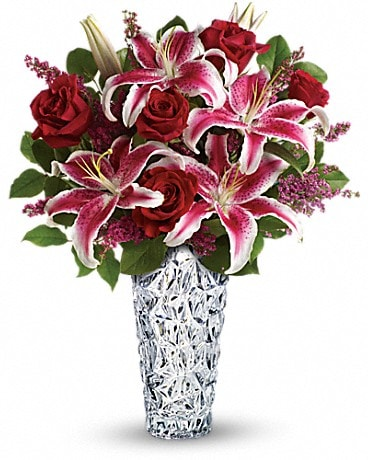 Teleflora's Diamonds And Lilies Bouquet Bouquet