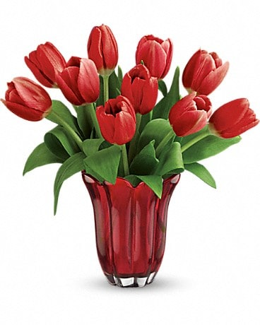 Teleflora's Kissed By Tulips Bouquet Bouquet
