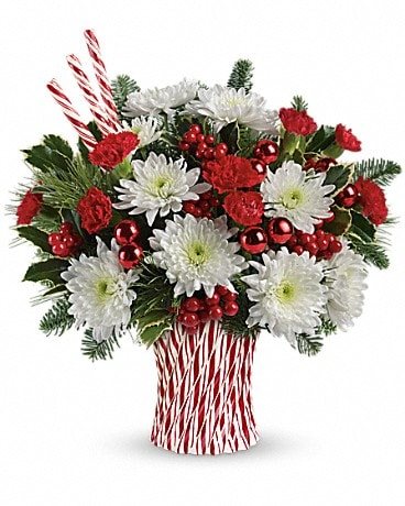 Teleflora's Sweet Holiday Wishes Bouquet Bouquet