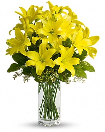 Lily Sunshine Bouquet