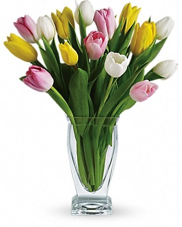 Teleflora's Tulip Treasure Bouquet