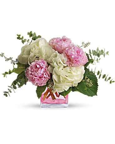 Teleflora's Pretty in Peony Flower Arrangement